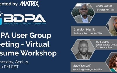 BDPA ATL – Virtual Resume Workshop